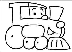 Land Transportation Coloring Pages For Kids Preschool And