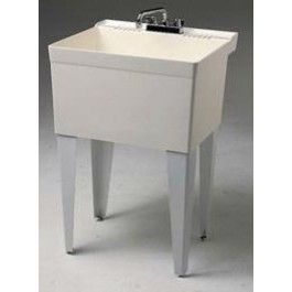 fiat fl1 white laundry tub single bowl floor mount white laundry laundry tubs laundry sink pinterest
