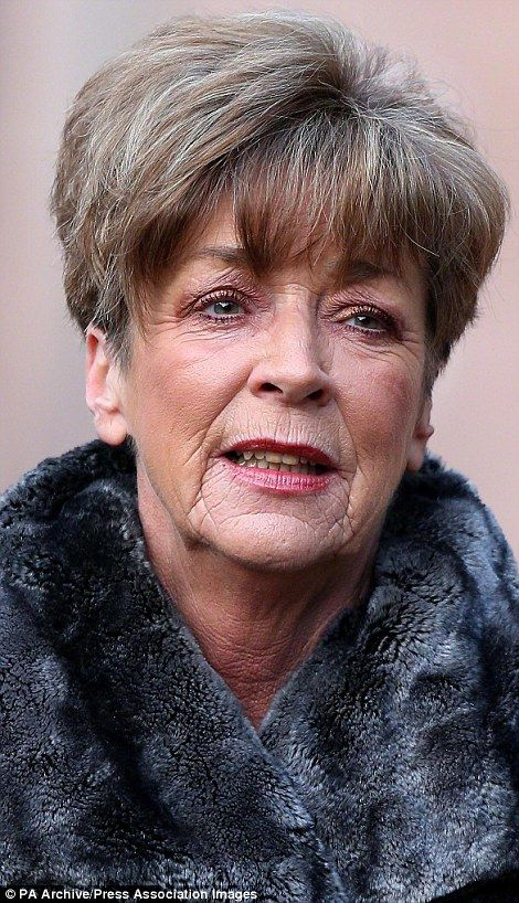 Died of cancer: Coronation Street star Anne Kirkbride, who played the role of Deirdre Barlow for more than 40 years, passed away in January