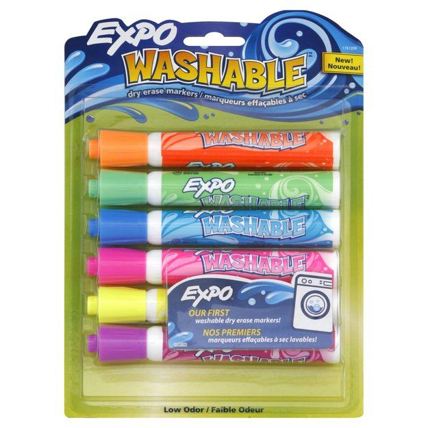 Expo Expo Washable Dry Erase Marker Bullet Point Assorted 6 Per Set Reviews Find The Best Markers Products Influenst Dry Erase Markers Dry Erase Markers