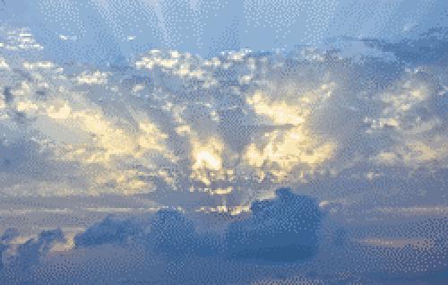 Espacio De Imágenes Y Palabras El Sol Entre Las Nubes Nubes Paisajes Paisaje Urbano