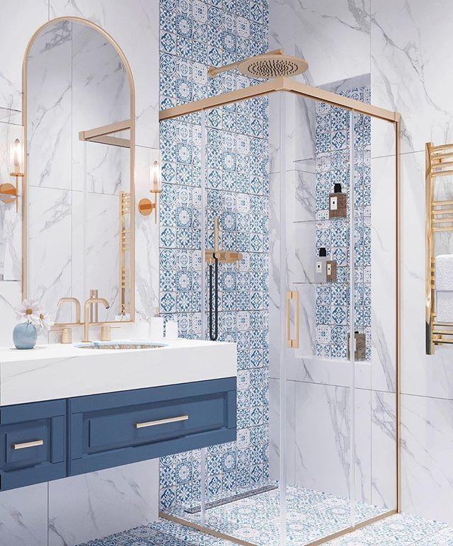 45 Beautiful And Inspiring Bathroom Ideas Bathroom Idea Homedecor Bathroom Toilet Bathroom Style House Interior Bathroom Interior Design