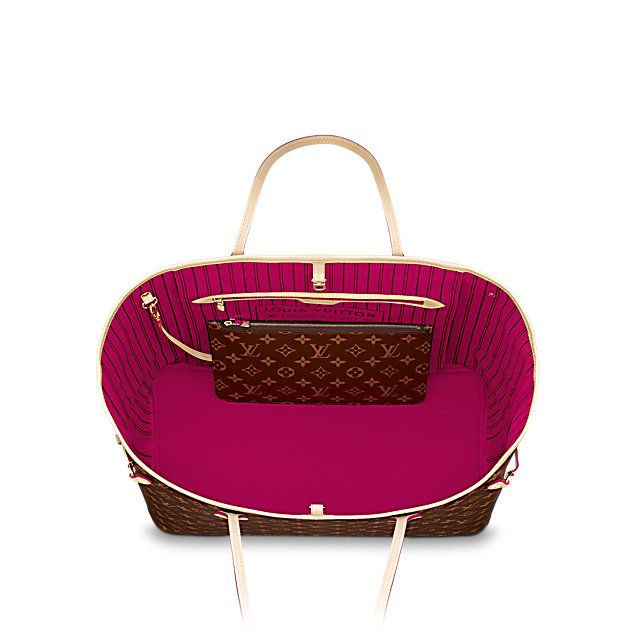 04e1b27accc8 LOUIS VUITTON - Neverfull GM (LG) MONOGRAM Handbags - inside love this  color