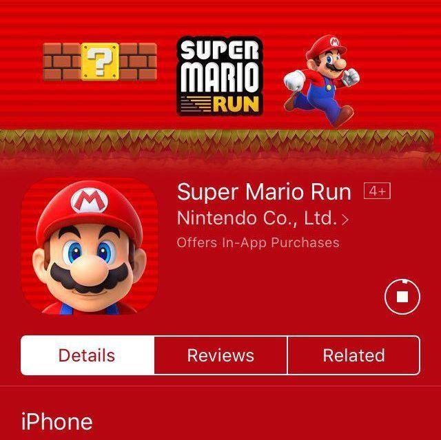 Super Mario, ahora en teléfonos. Sí, es real.