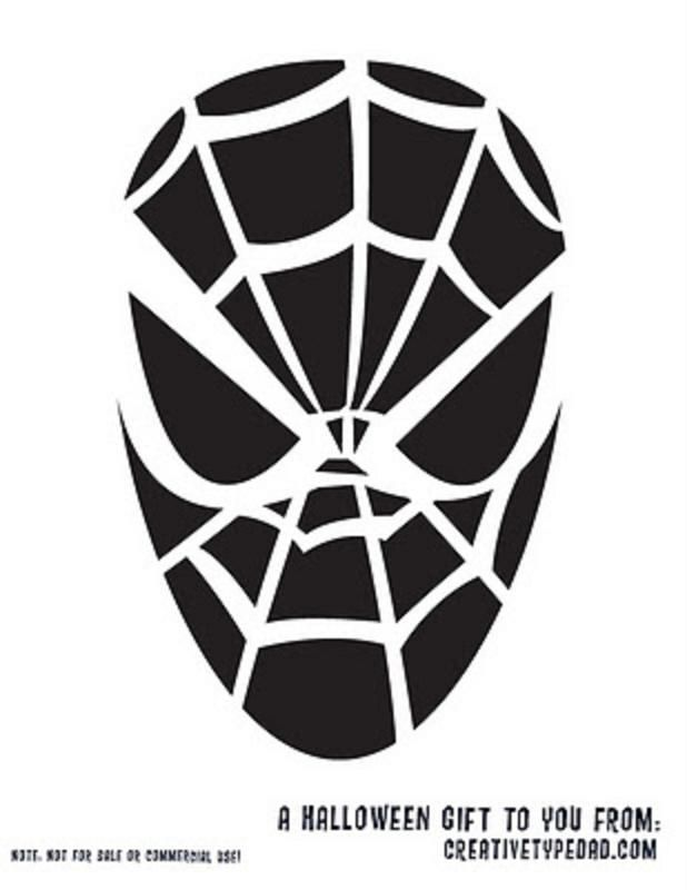 Spiderman Carving Template Halloween Crafts That May Not Ever