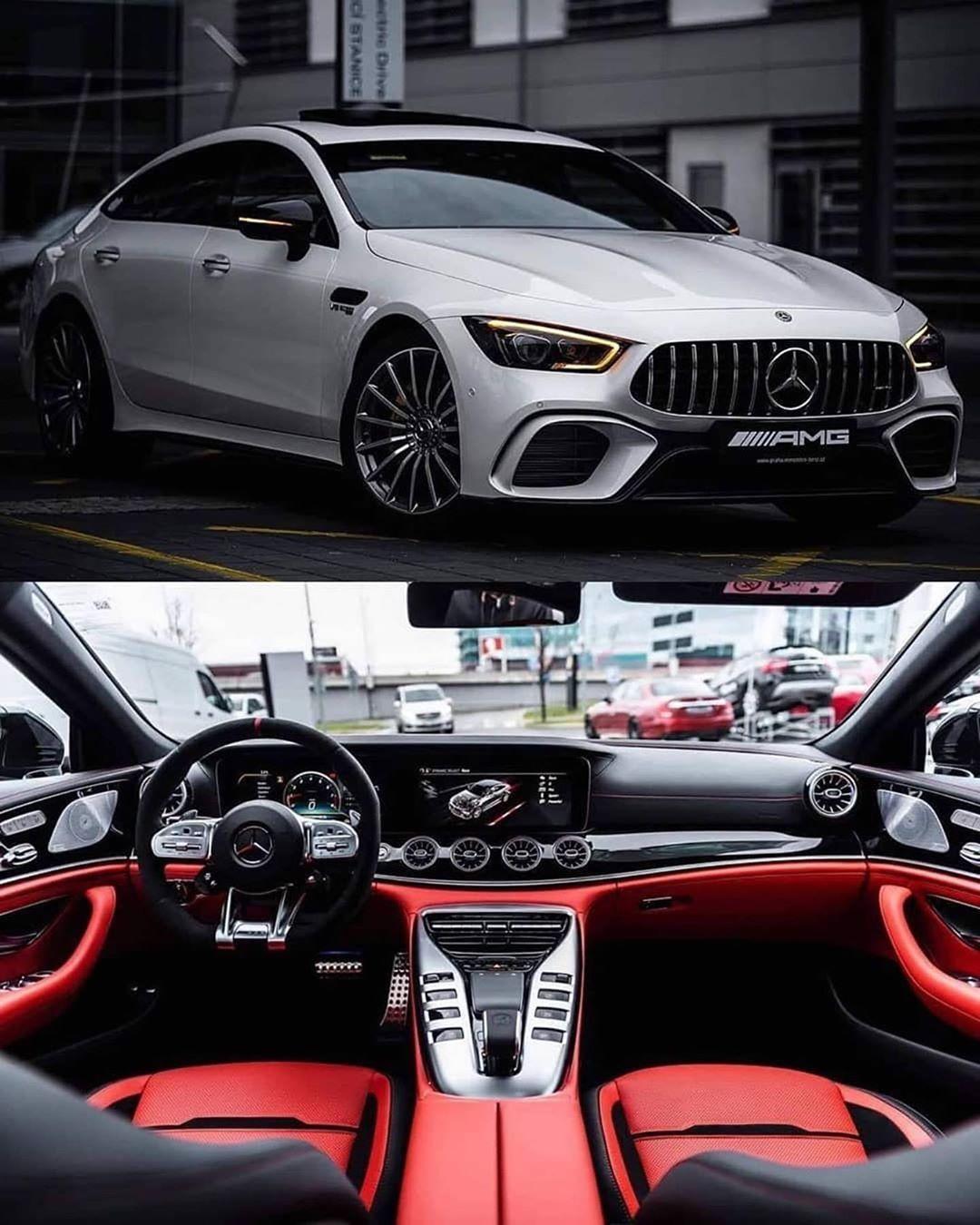 Mercedes Amg White Red Interiordesign Interior Exterior