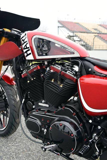Ottonero Cafe Racer Roadster 1200 Harley Davidson Barcelona