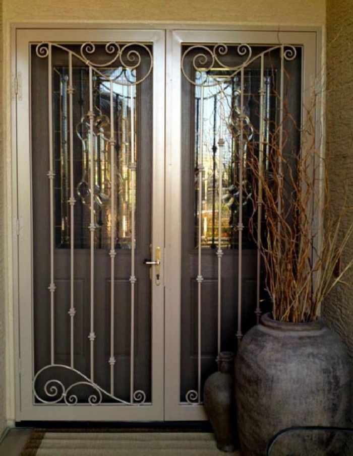 Burglar Proof French Doors Google Search Steel Security Doors Security Door Iron Security Doors