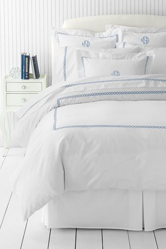 Duvet Cover 300 Count Sateen Embroidered Stitching