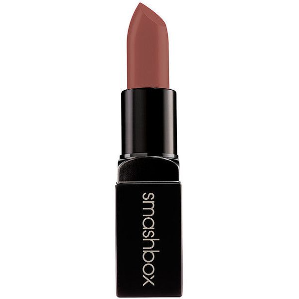Smashbox Be Legendary Cream Lipstick, Safe Word Matte 1 ea (€19) ❤ liked on Polyvore featuring beauty products, makeup, lip makeup, lipstick, beauty, lips, smashbox lipstick and smashbox