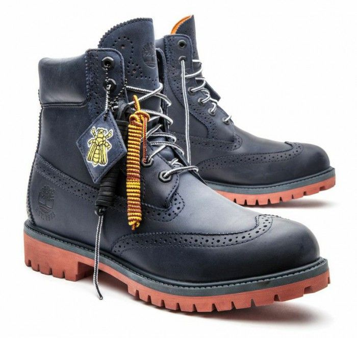 975a58c9 Navy Brogues Timberland Boots Style, Exclusive Sneakers, Billionaire Boys  Club, Bean Boots,