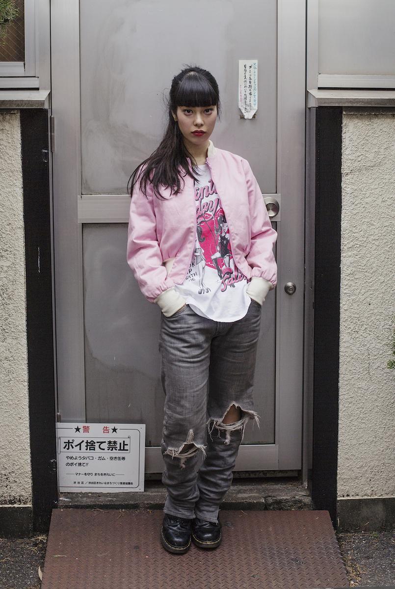 Rie Tamura, 20, Tokyo, Japan Photography Ieva Blaževičiūtė