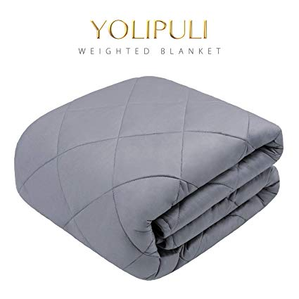Amazon Com Yolipuli Weighted Blanket 15 Lbs For Kids Adult Twin