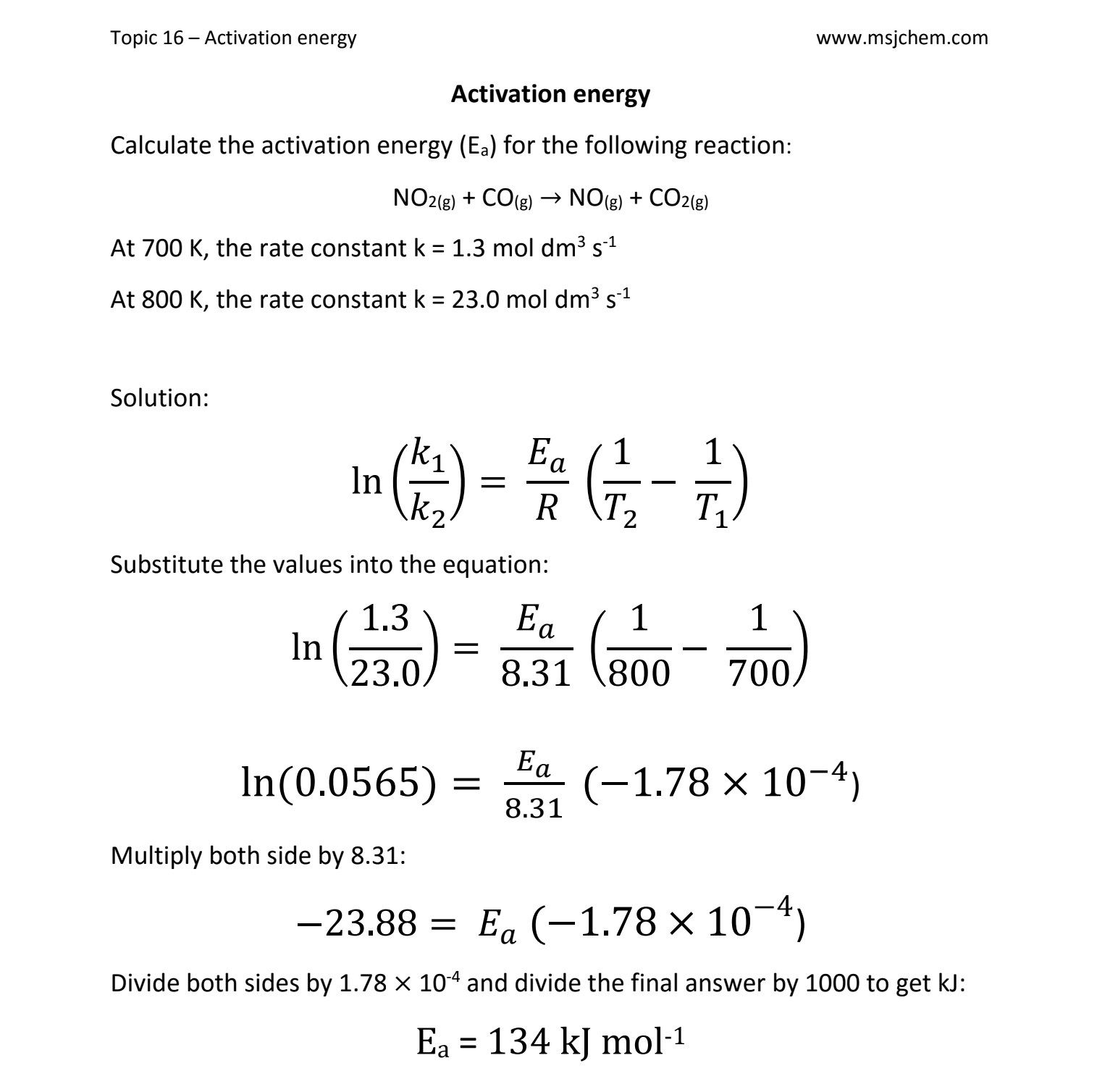 Chemistry Worksheet Limiting Reactant Worksheet 1