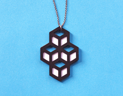Diy pendant necklaces made from cut paper diy projects from how diy pendant necklaces made from cut paper aloadofball Gallery