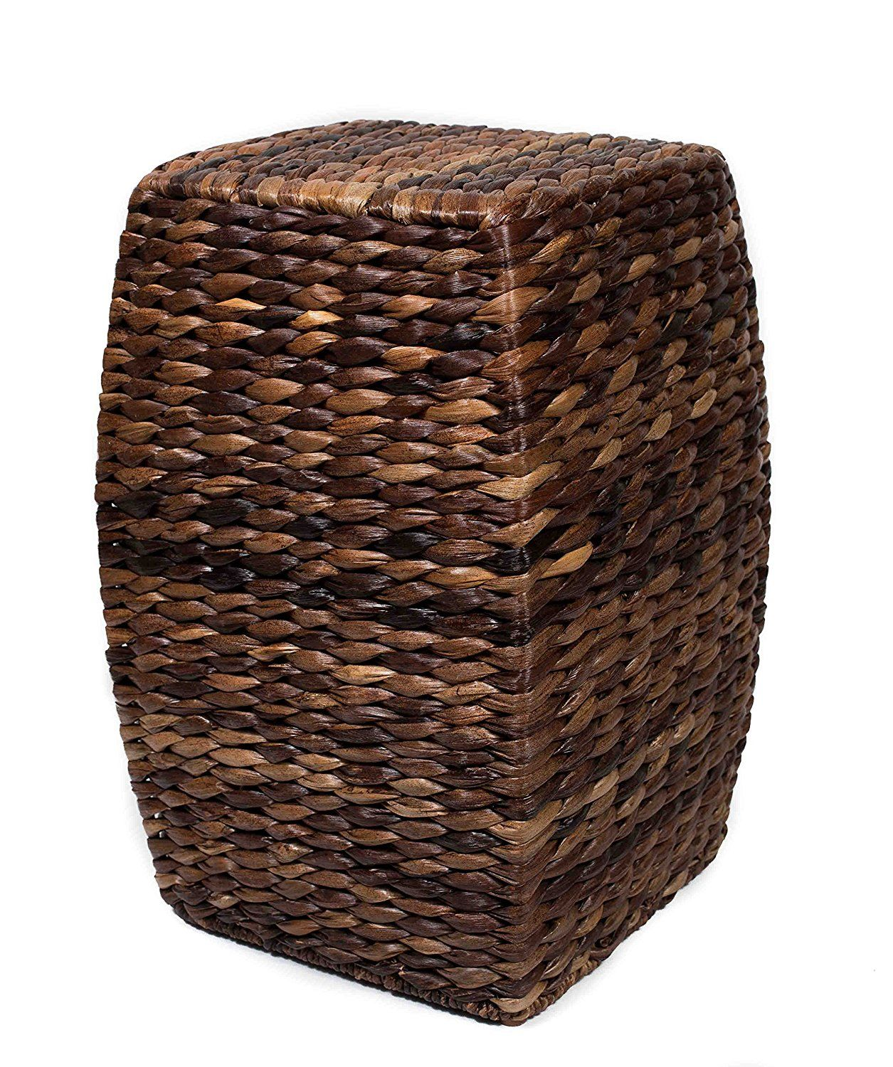 Furnitures Bird Rock Home Seagrass Accent Stool That Made Of Hand
