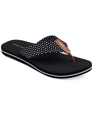 Tommy Hilfiger Candis Flip Flops Reviews Sandals Flip Flops Shoes Macy S Sandalia Azul Sapatos Azul