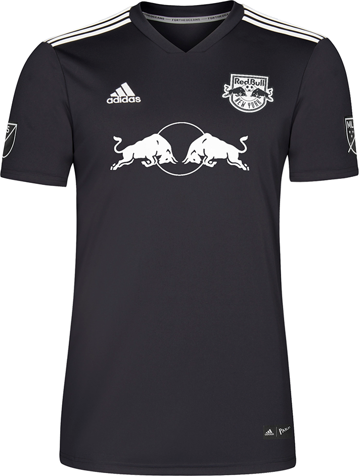 a0f0463e6c3 New York Red Bulls Adidas Parley Ocean Plastic jersey - made of recycled  plastic for Earth Day 2018