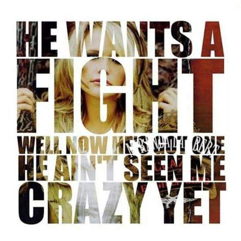 Lyric me & u lyrics : U two want to call me crazy. Honey you haven't even seen crazy yet ...