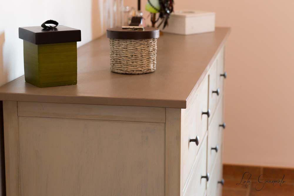 Muebles #restaurados con #Chalkpaint. #Cómoda de Ikea de 8 cajones ...