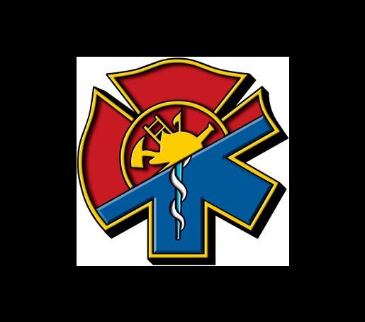 Exclusive Maltese Cross Star Of Life Hybrid Decal Maltese Cross Fire Medic Firefighter Paramedic