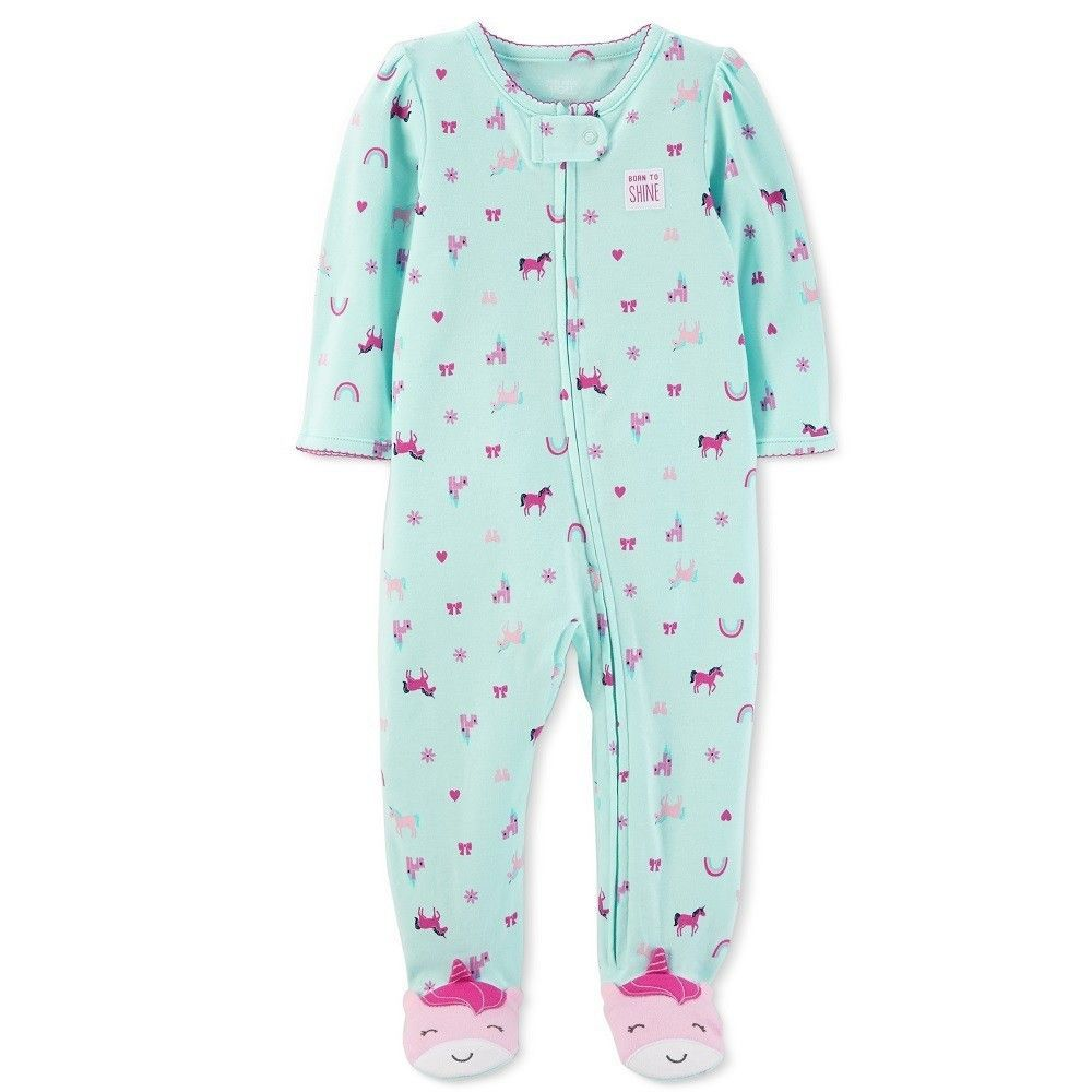 aa8112e504 Baby Girls  Unicorn Sleep N  Play - Just One You Made by Carter s Blue 9M