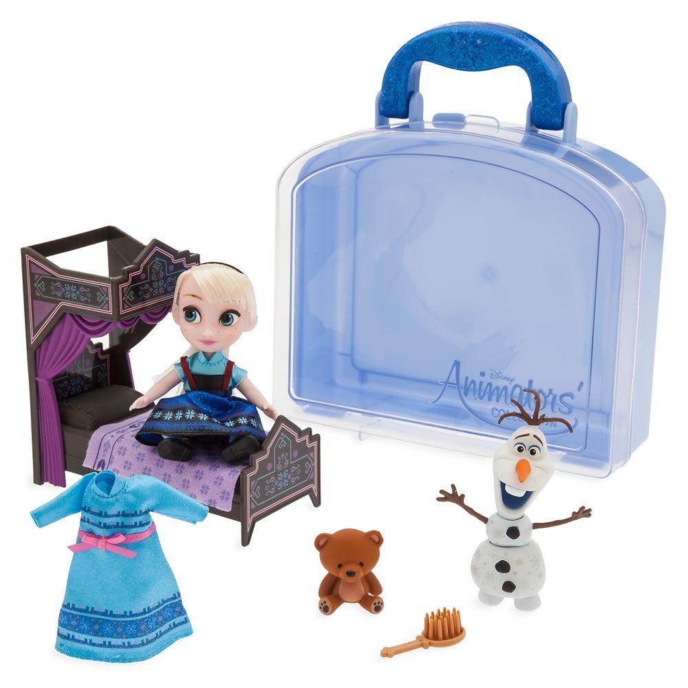 NEW Disney Parks Animators Mini Doll Playset 5 inch Frozen Anna