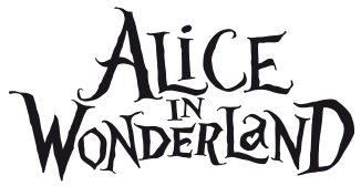 File Alice In Wonderland Svg Alice In Wonderland Text Alice In Wonderland Font Alice In Wonderland Silhouette