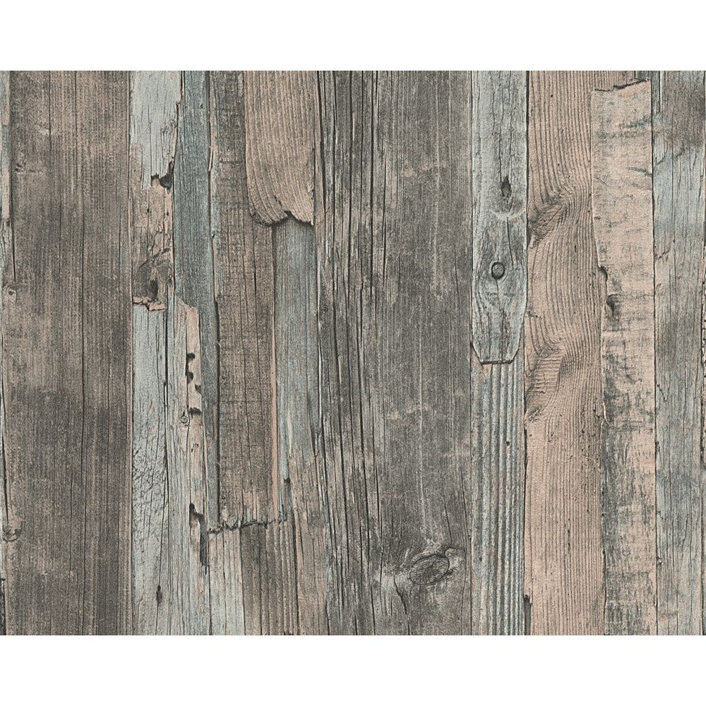 A S Creation As Creation Distressed Driftwood Wood Panel Faux