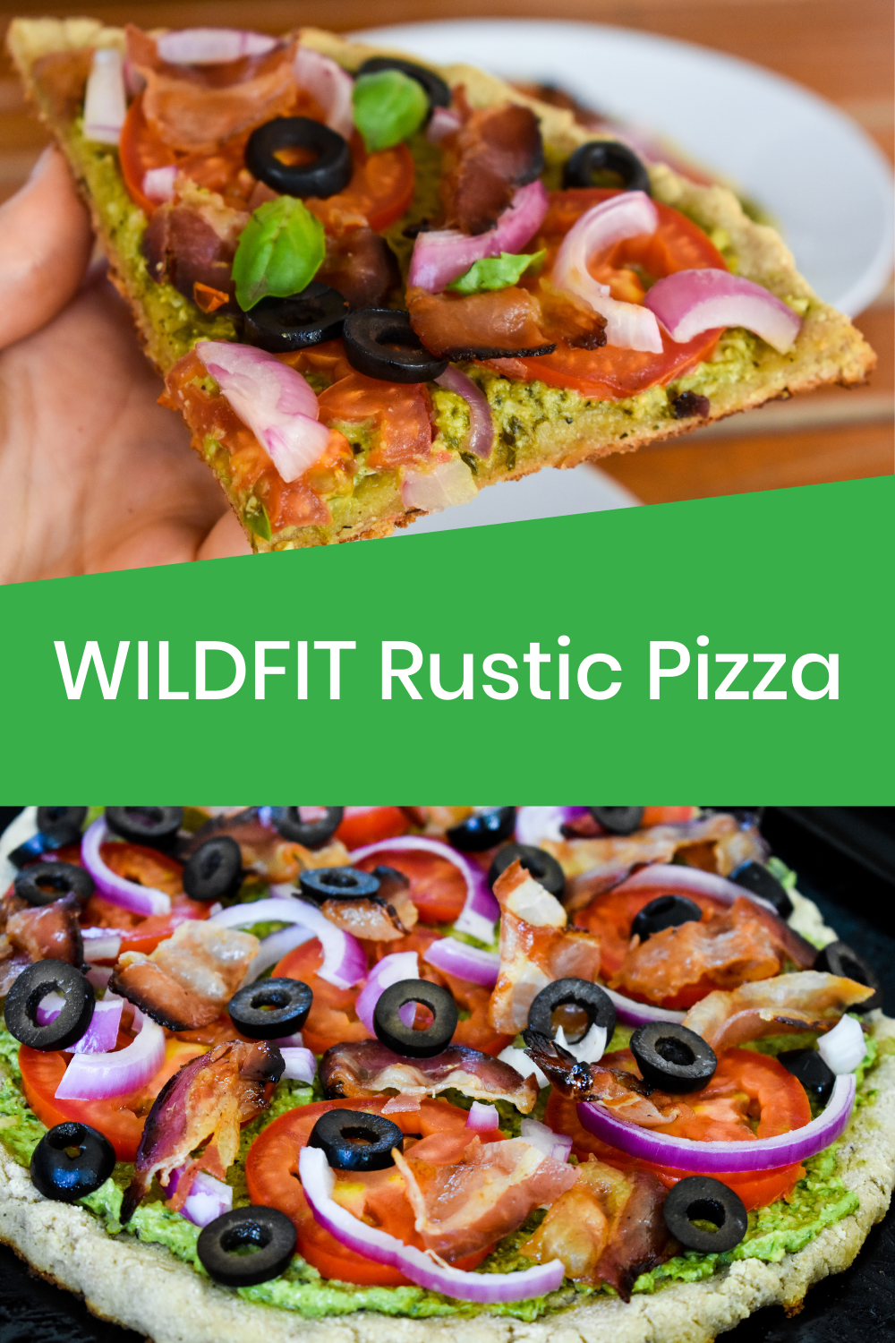 Rustic Pizza Recipe Healthy Pizza Toppings Delicious Pizza Recipes Rustic Pizza