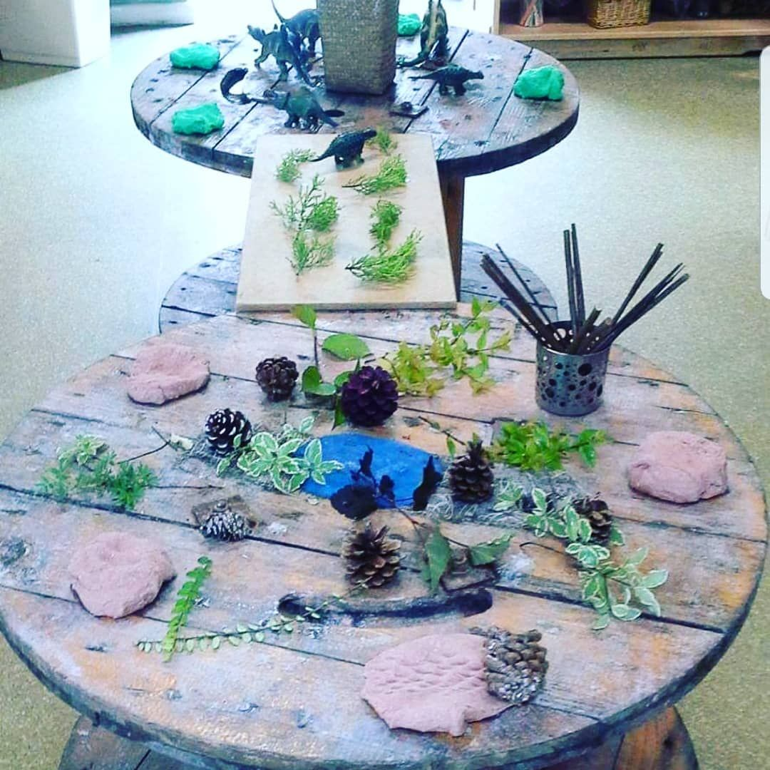 "The Curiosity Approach ️ on Instagram: ""Carrying on this morning with #playdoughplayactivities . . This beautiful #invitationtocreate provided a huge surface for the children to…"""