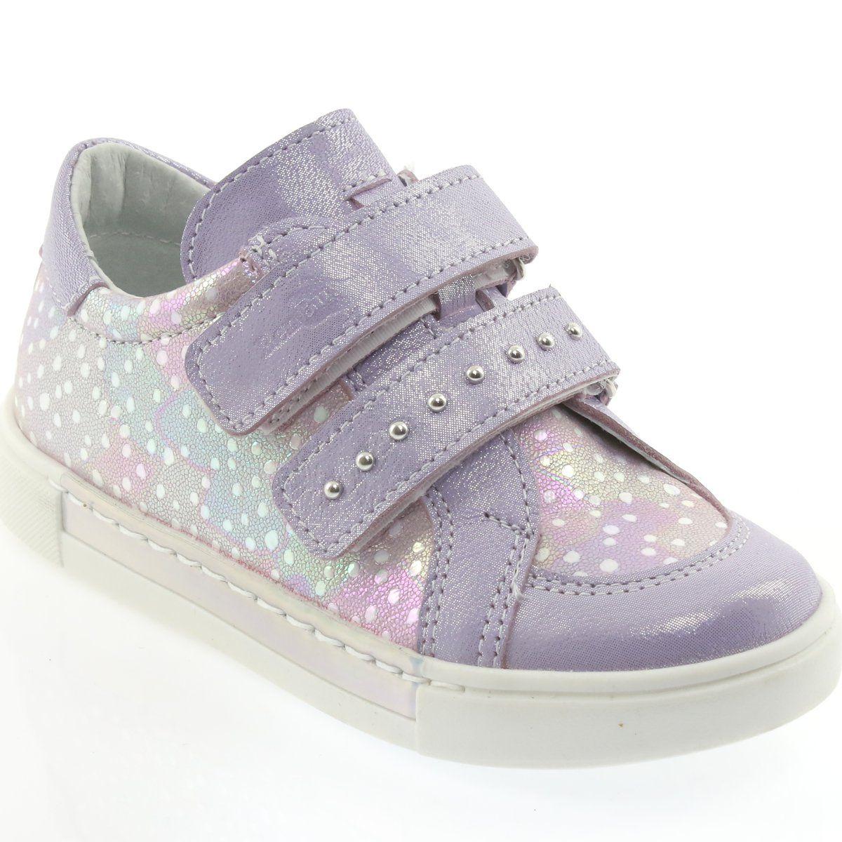 Polbuty I Trzewiki Dzieciece Dla Dzieci Renbut Polbuty Na Rzepy Ren But 3229 Jasny Fiolet Childrens Shoes Kid Shoes Purple