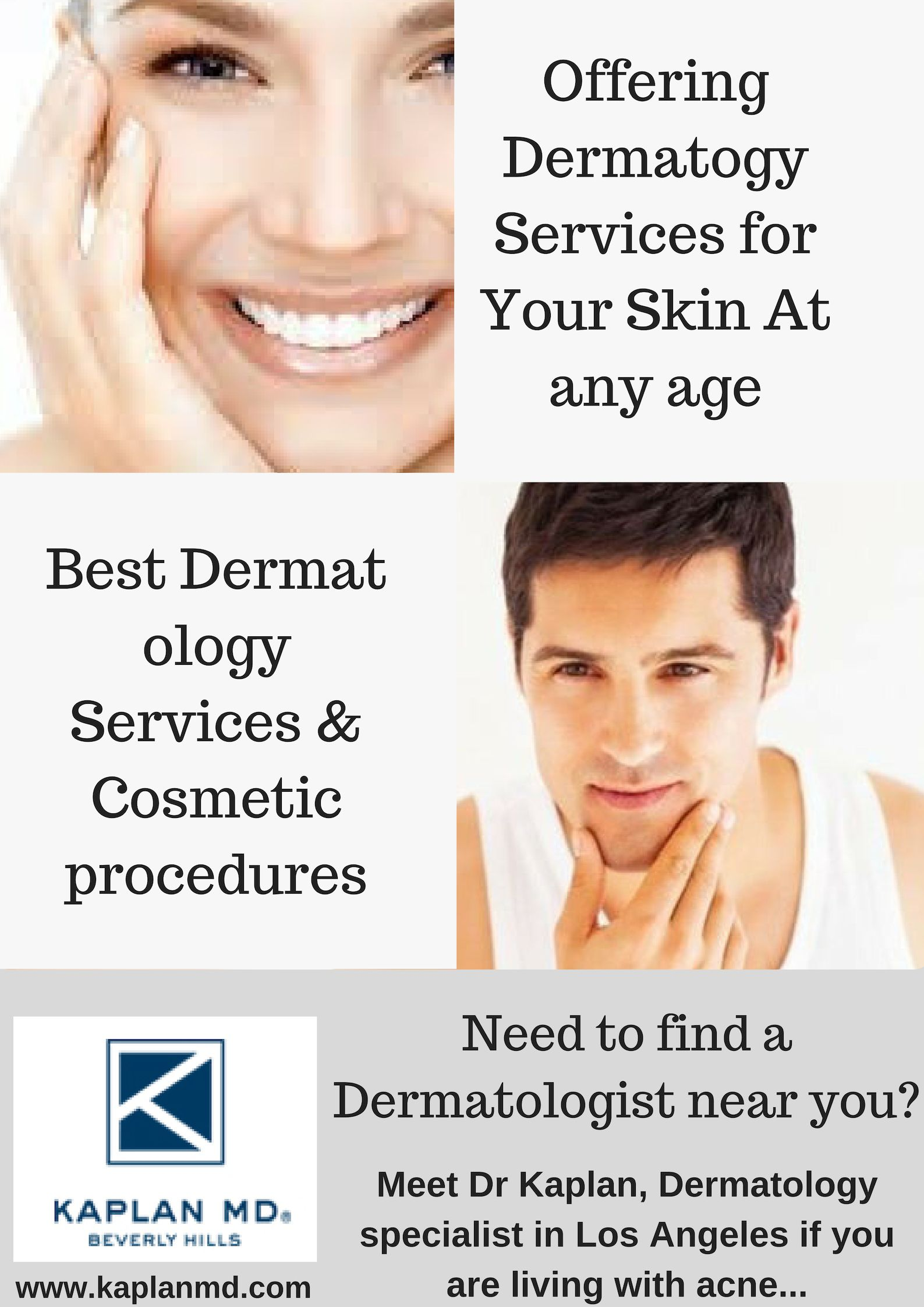 Need to find a #dermatology specialist near you? Meet Dr Kaplan a