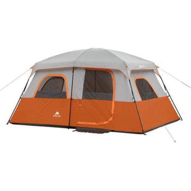 Ozark Trail 8 Person 2 Room Family Cabin Tent Walmart Com Cabin Tent Family Tent Camping Family Cabin