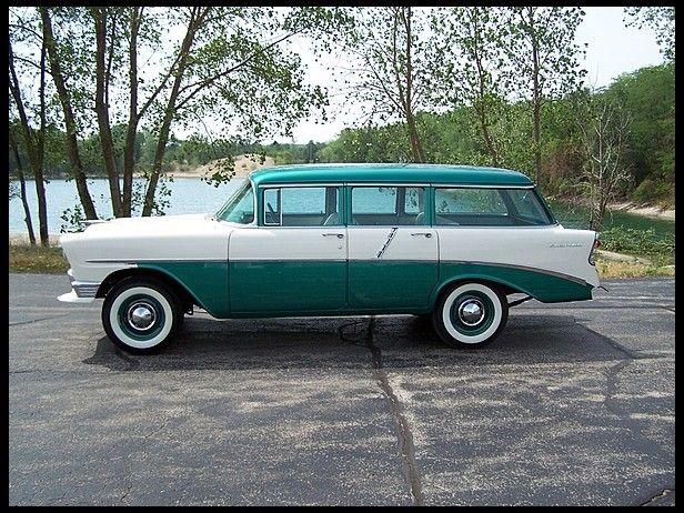 1956 Chevrolet 210 Handyman Station Wagon Classy Cars Classic