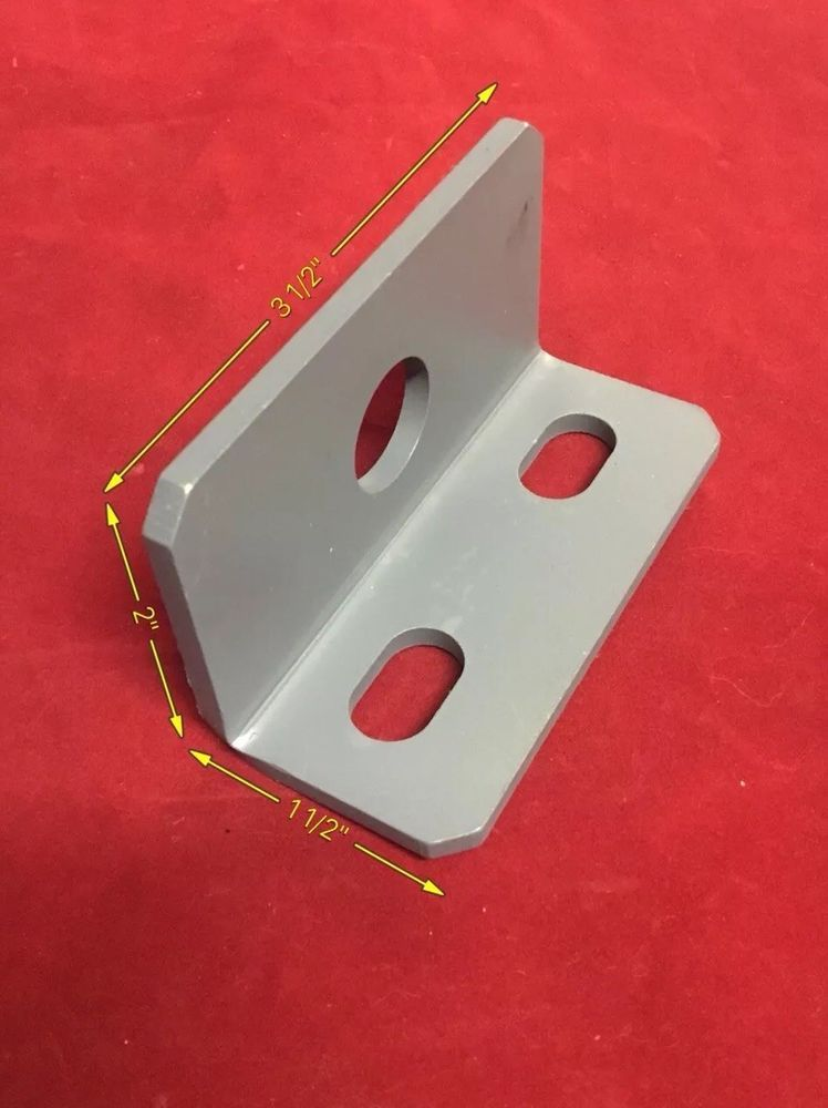 Heavy Duty Steel Bracket Support 1 1 2 X 2 X 3 1 2 Long 3 16 Thick W Holes Unbrandedgeneric Angle Bracket Bracket Steel