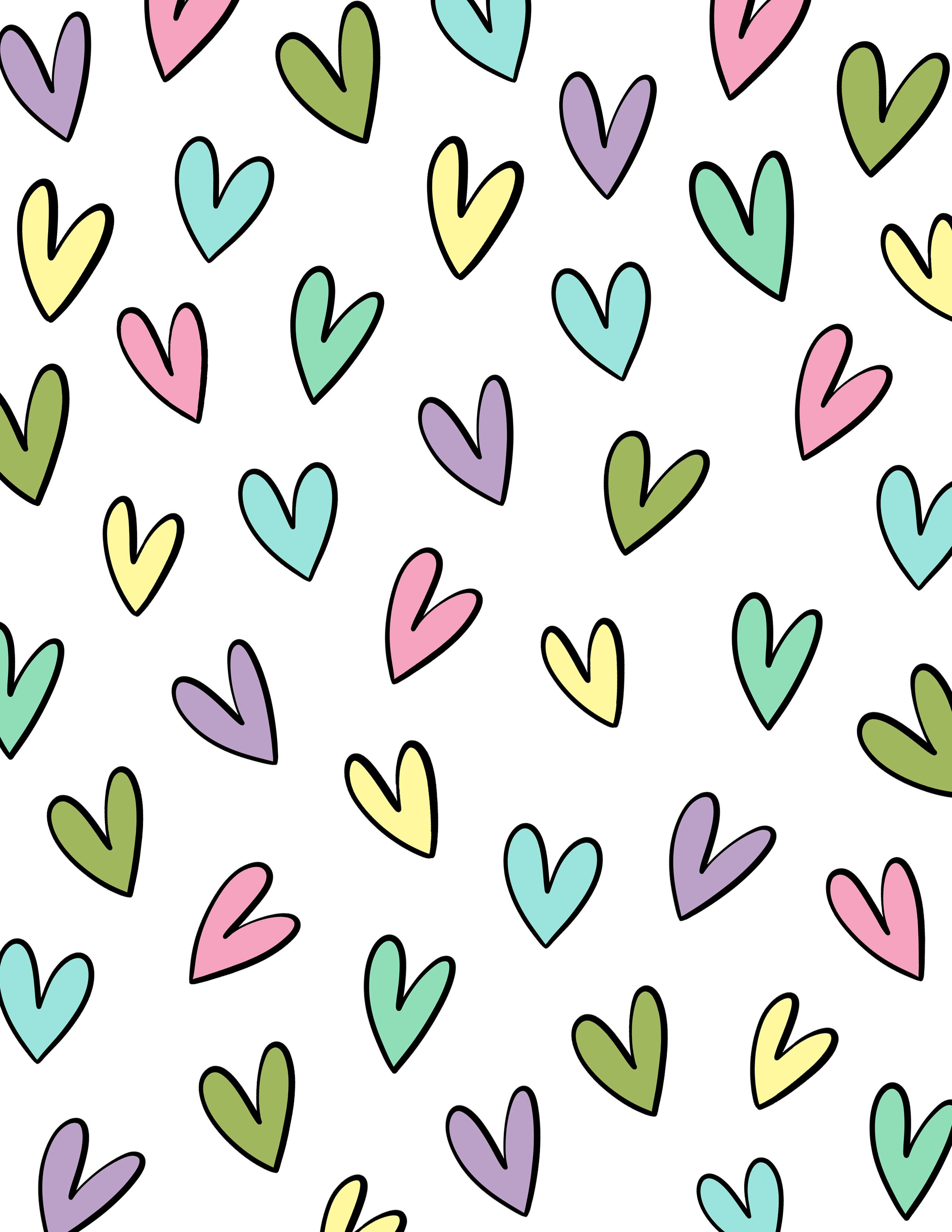 Cute Hearts Wallpapers Heart Wallpaper Cute Wallpapers Fractal Art