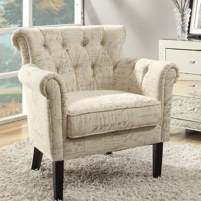 Woodhaven Hill Barlowe Arm Chair U0026 Reviews   Wayfair