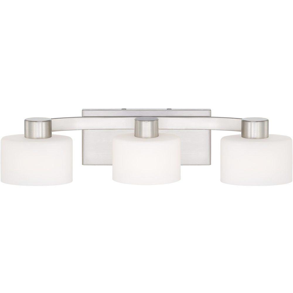 Bathroom Vanity Light Fixtures Brushed Nickel brushed nickel bathroom vanity light fixtures | granite