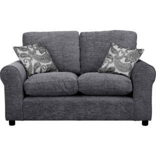Buy Tabitha Regular Fabric Sofa - Charcoal at Argos.co.uk - Your Online Shop for Sofas.