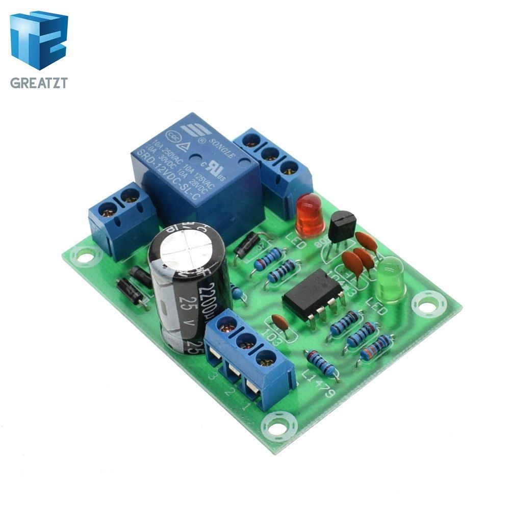 Water Level Controller Switch Liquid Sensor Module Automatically Pumping Drainage Protection Controlling Circuit Board