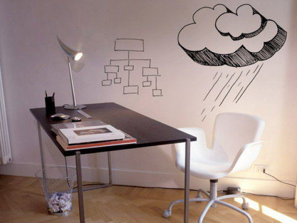 IdeaPaint CREATE is a low VOC, low odor whiteboard paint kit with everything you need to create a whiteboard on any paintable surface.