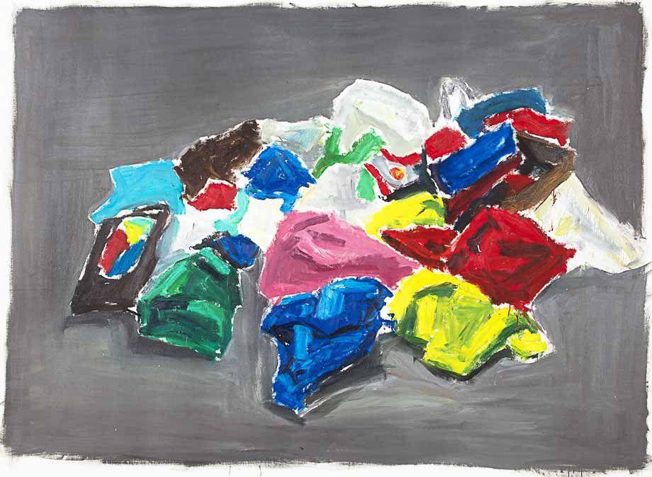 Expo: Les peintures de Damien Cabanes, entre portraits et vues d ...