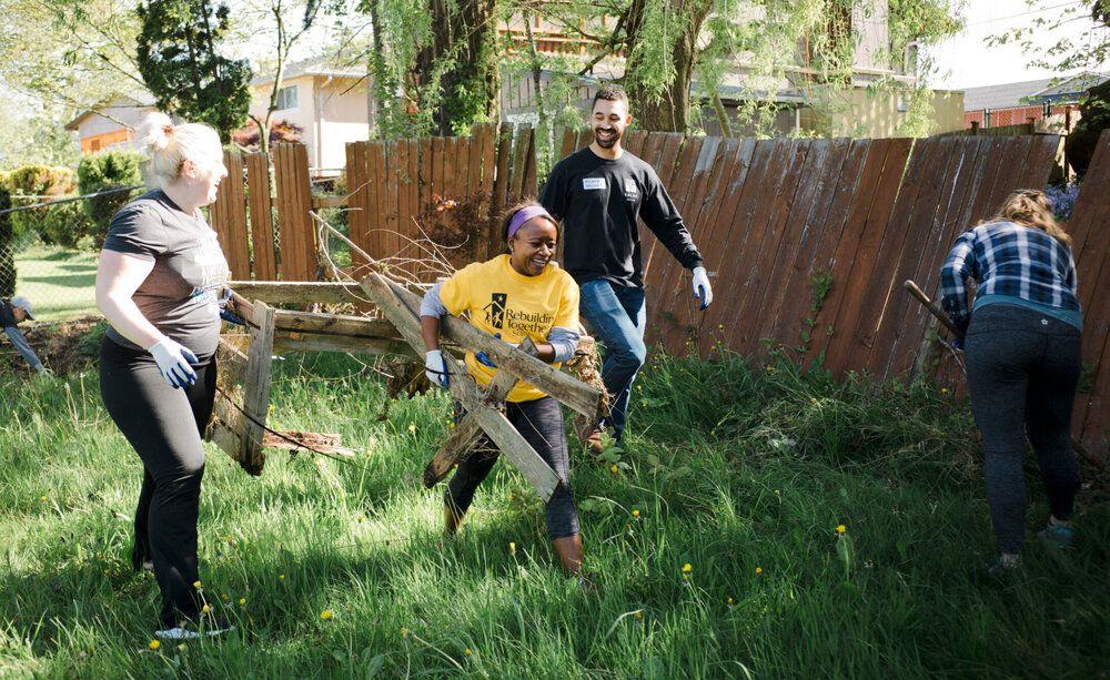 Rebuilding Together Seattle Past Waste Free Grant Winner Rebuilding Together Free Grants Home Repair
