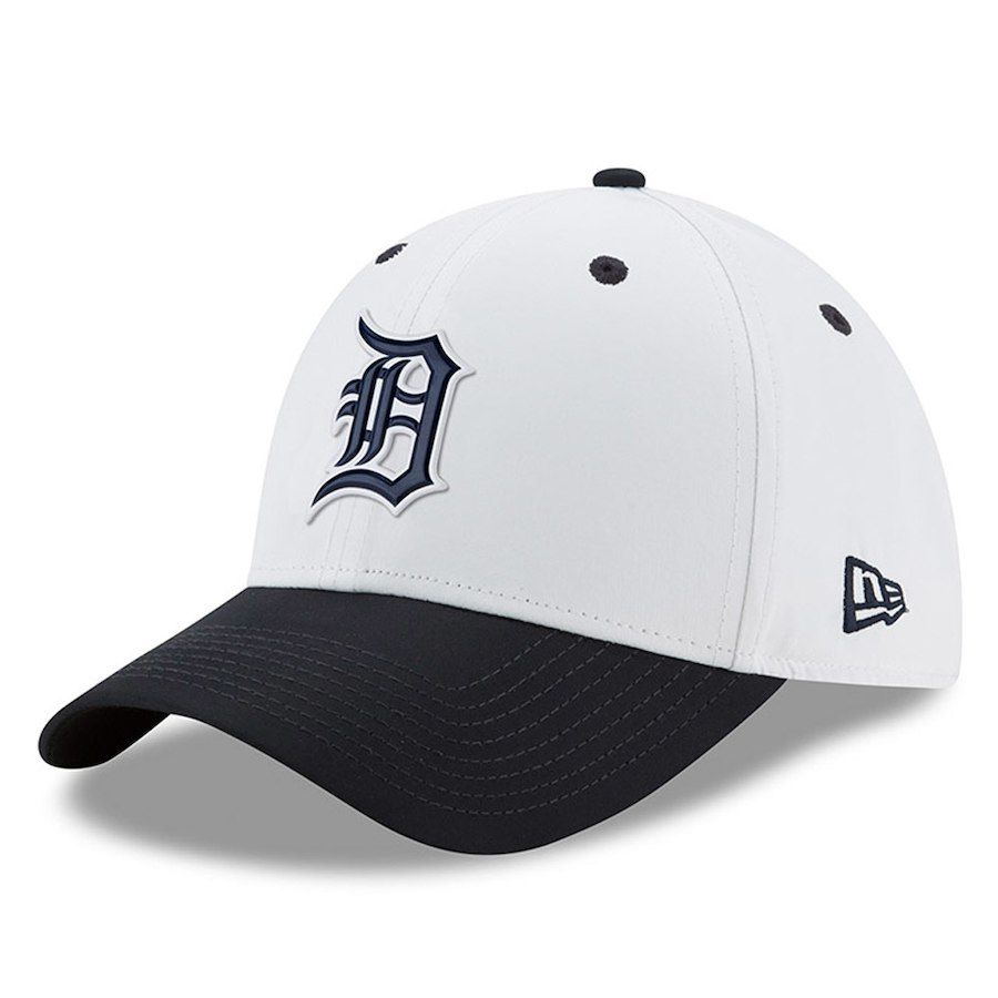pretty nice eb21a 438f8 ... get youth detroit tigers new era navy 2018 prolight batting practice  39thirty flex hat your price