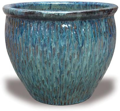 Love These Blues Wholesale Pottery Imported Clay Flower Pots