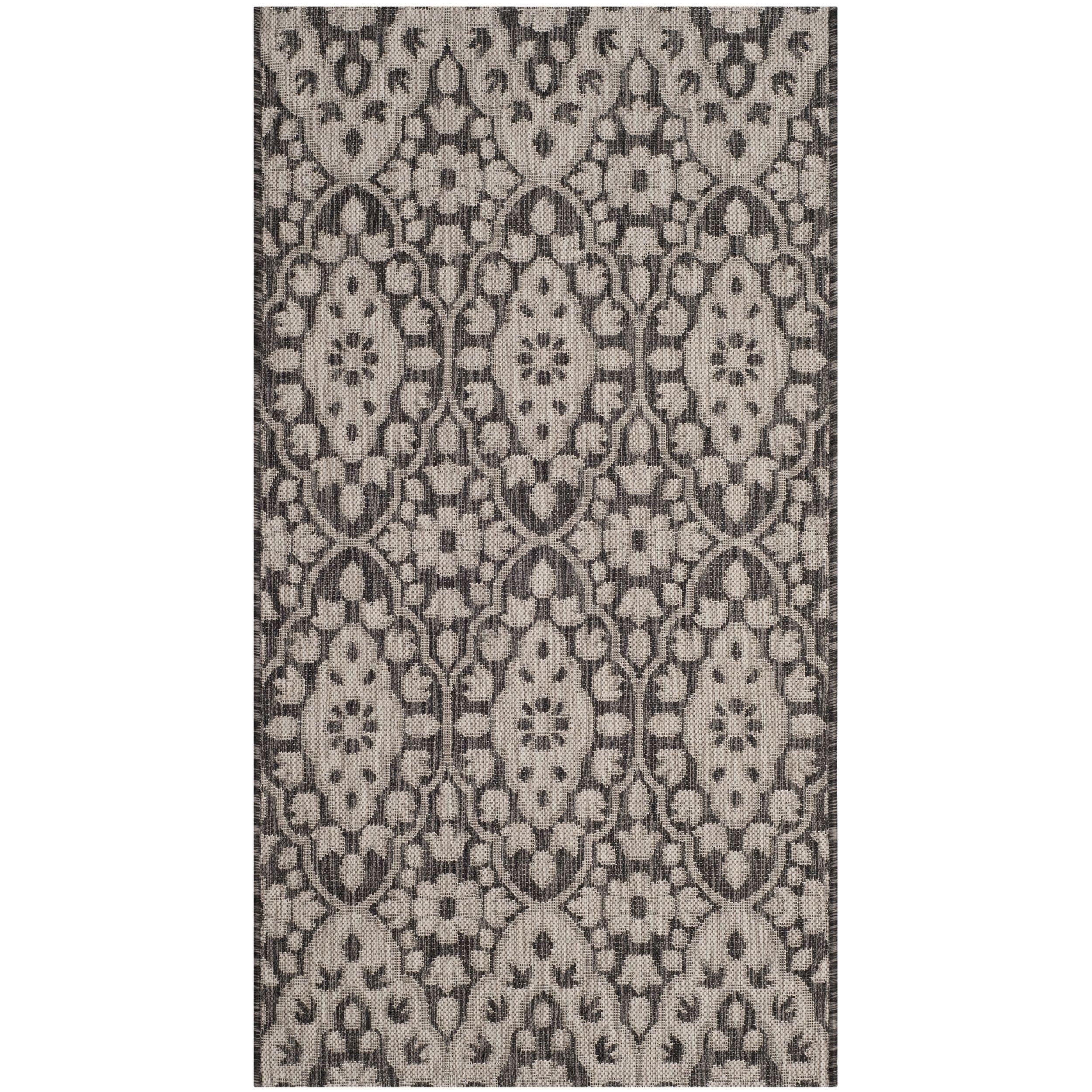 Martha stewart by safavieh tulip medallion black beige area rug
