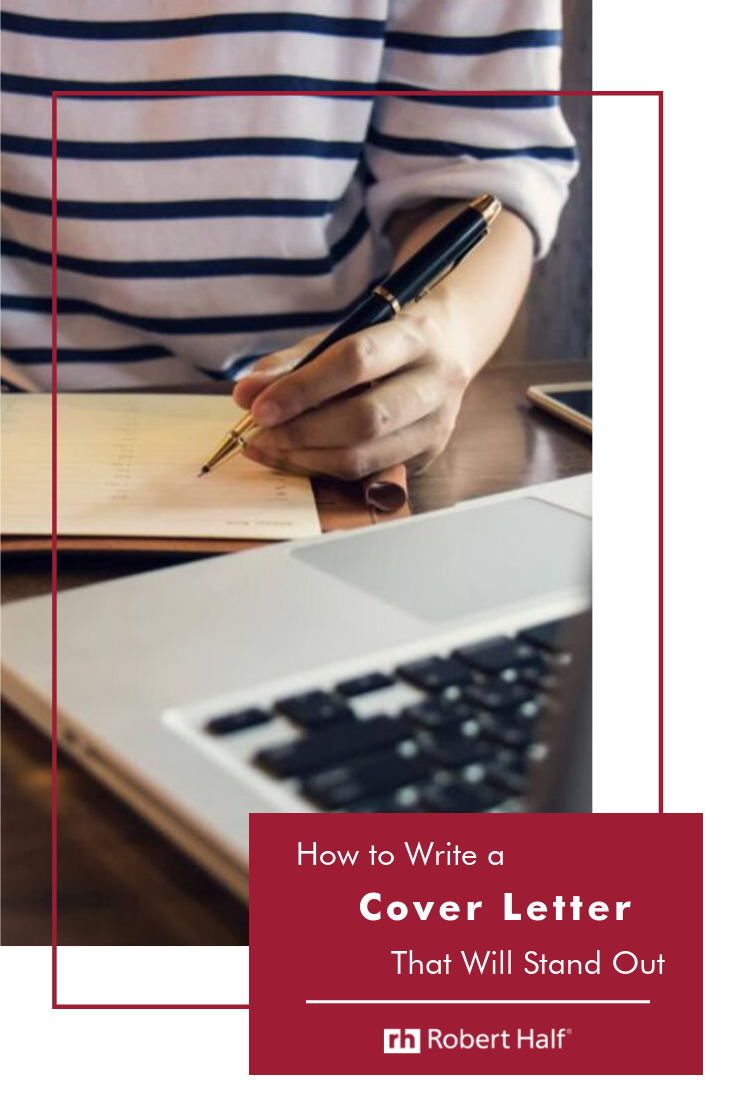 How to Write a Cover Letter That Will Stand Out (With ...