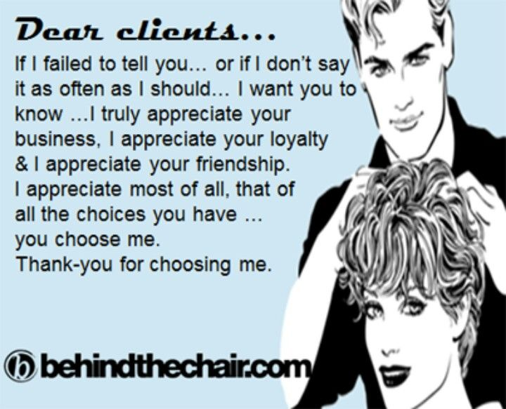 Quotes For Hair Spa: .thank You Clients :)