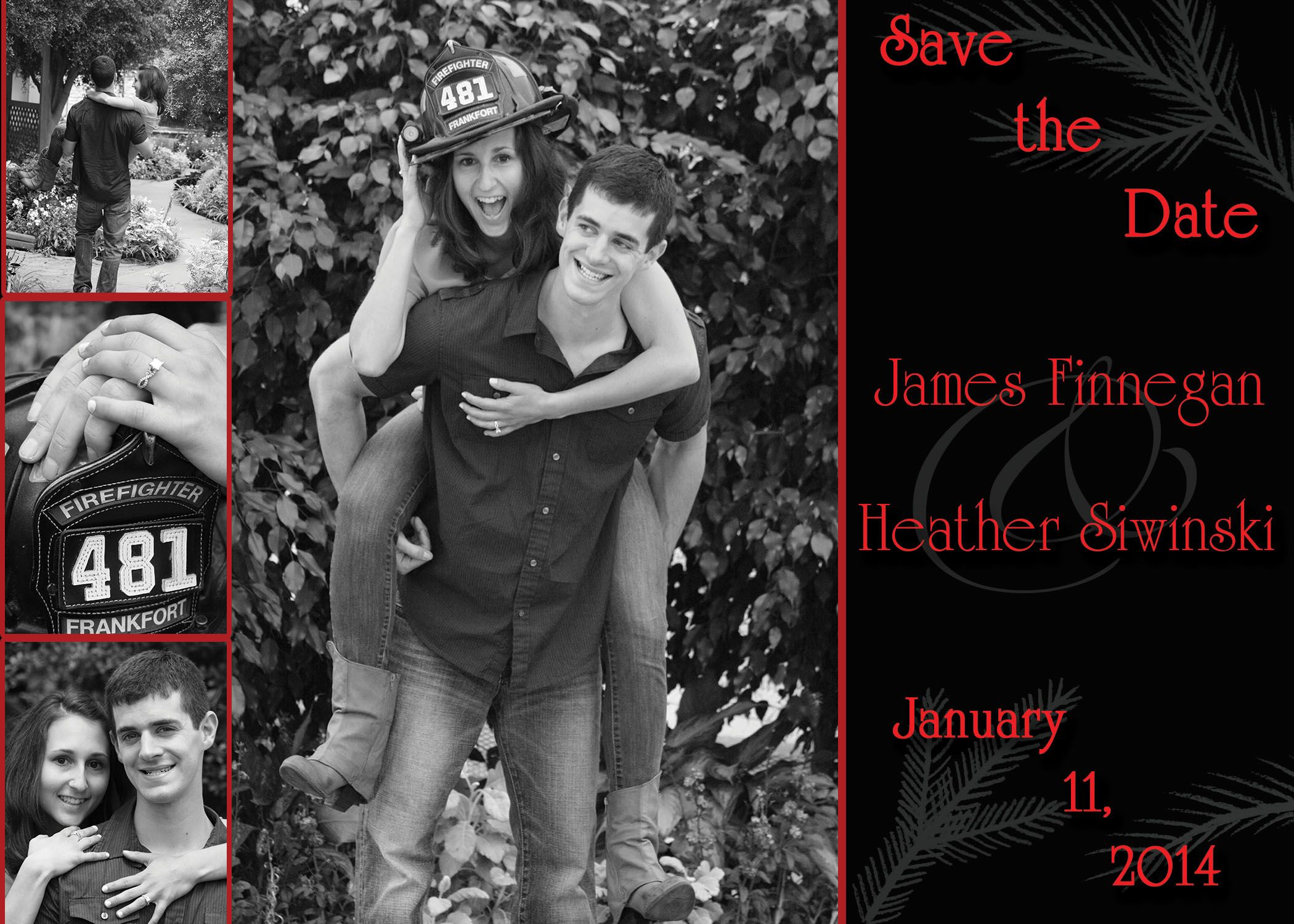 Firefighter save the date